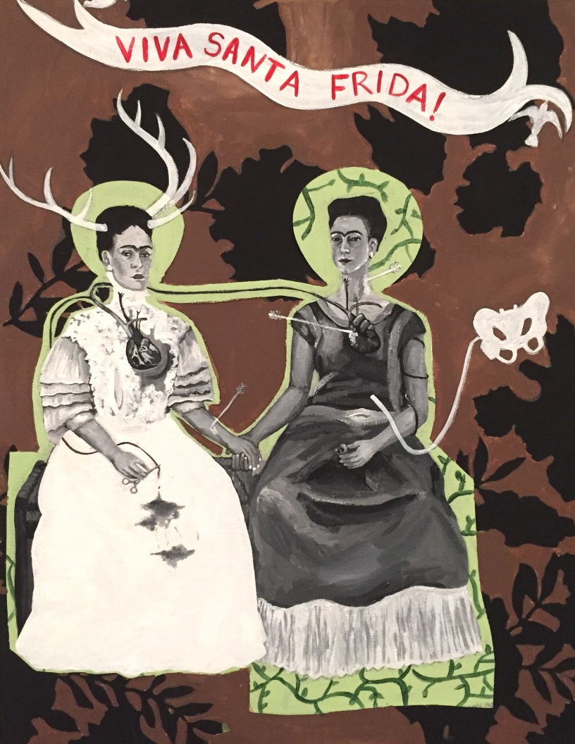 """Viva Santa Frida!"" by Sarah Cole"